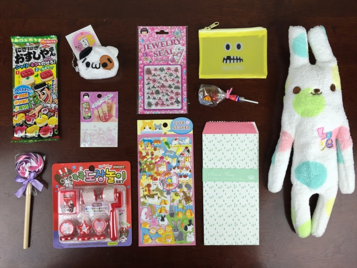 kawaii box october 2015 review