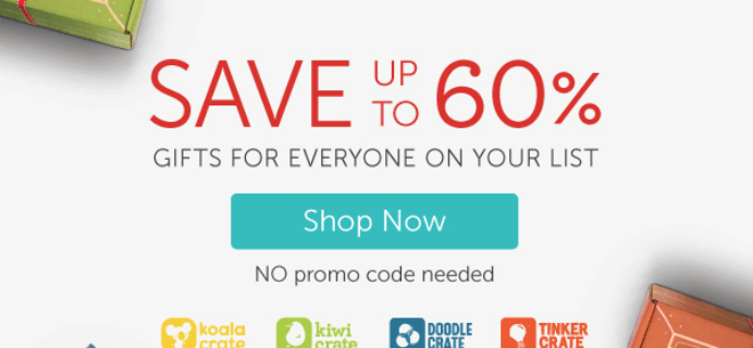 Kiwi Crate Cyber Monday Deal – Last Day to Save 50% in Shop!