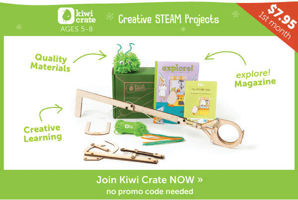 Best Kiwi Crate Promo Code - 50% Off First Box - Doodle