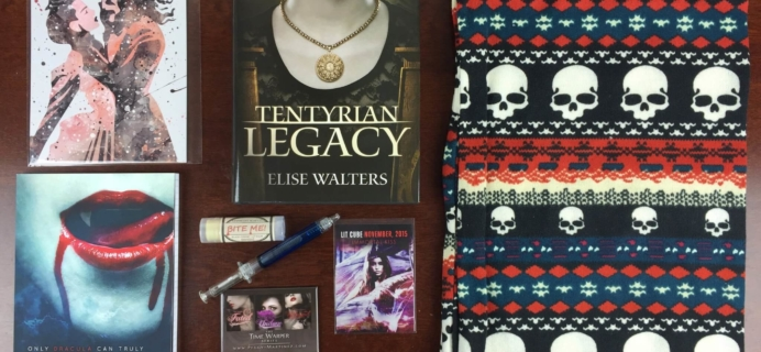 Lit-Cube November 2015 Book Subscription Box Review