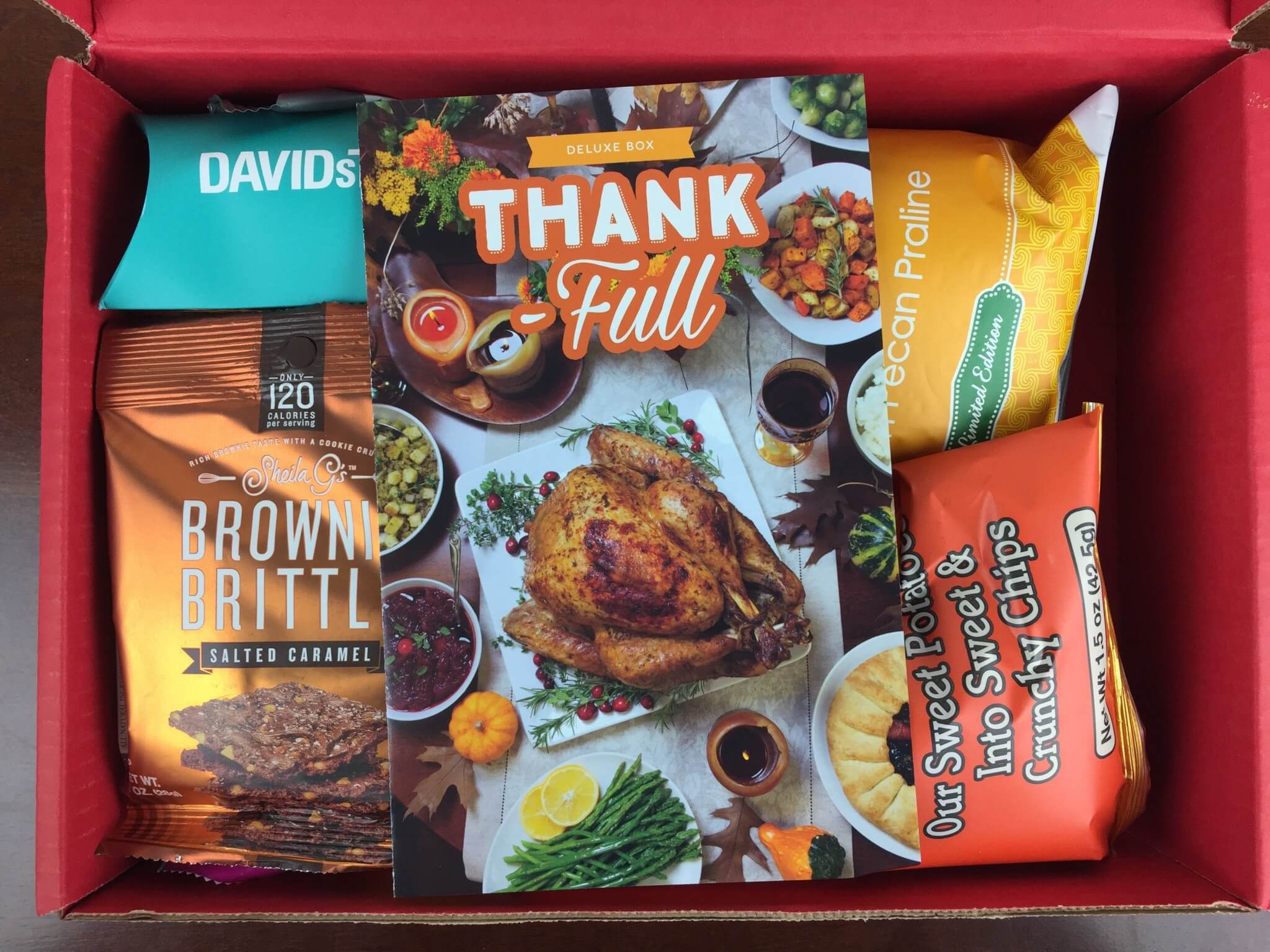 November 2015 Love With Food Deluxe Box Review + Coupon + Rachael Ray Magazine Offer!