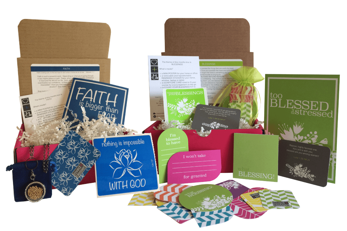 Loved + Blessed Cyber Monday Christian Subscription Box Deal: 15% Off 6+Month Subscriptions