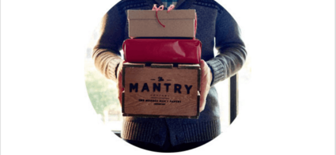 Mantry Cyber Monday Deal: Buy Any Gift Subscription and get a Bonus Crate FREE!