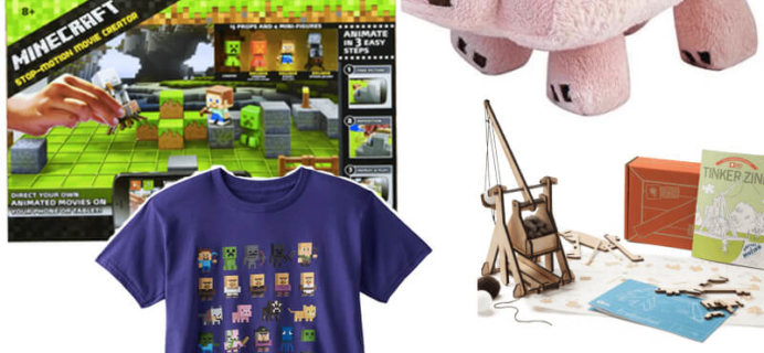Holiday Gift Guide for Minecraft Fans, Fanatics, and Addicts!