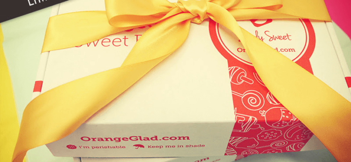 Orange Glad Black Friday Deal – FREE Double Sweets + 10% Off!