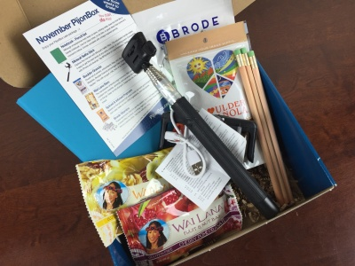 PijonBox November 2015 College Subscription Box Review + Coupon Codes!