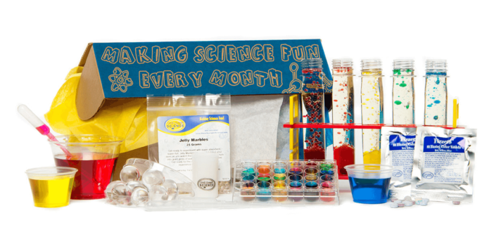Kids STEM Subscription Box Cyber Monday Deal – 50% Off Spangler Science Club!