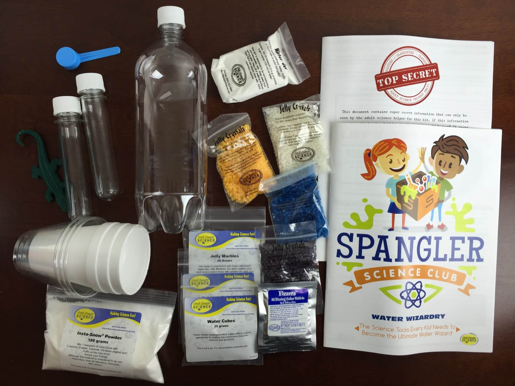 Steve Spangler Science Club Subscription Box Review & Coupon  – Water Wizardry