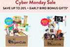 Vegan Cuts Cyber Monday Beauty + Snack Subscription Box Deals: 20% Off + Bonus Gifts!