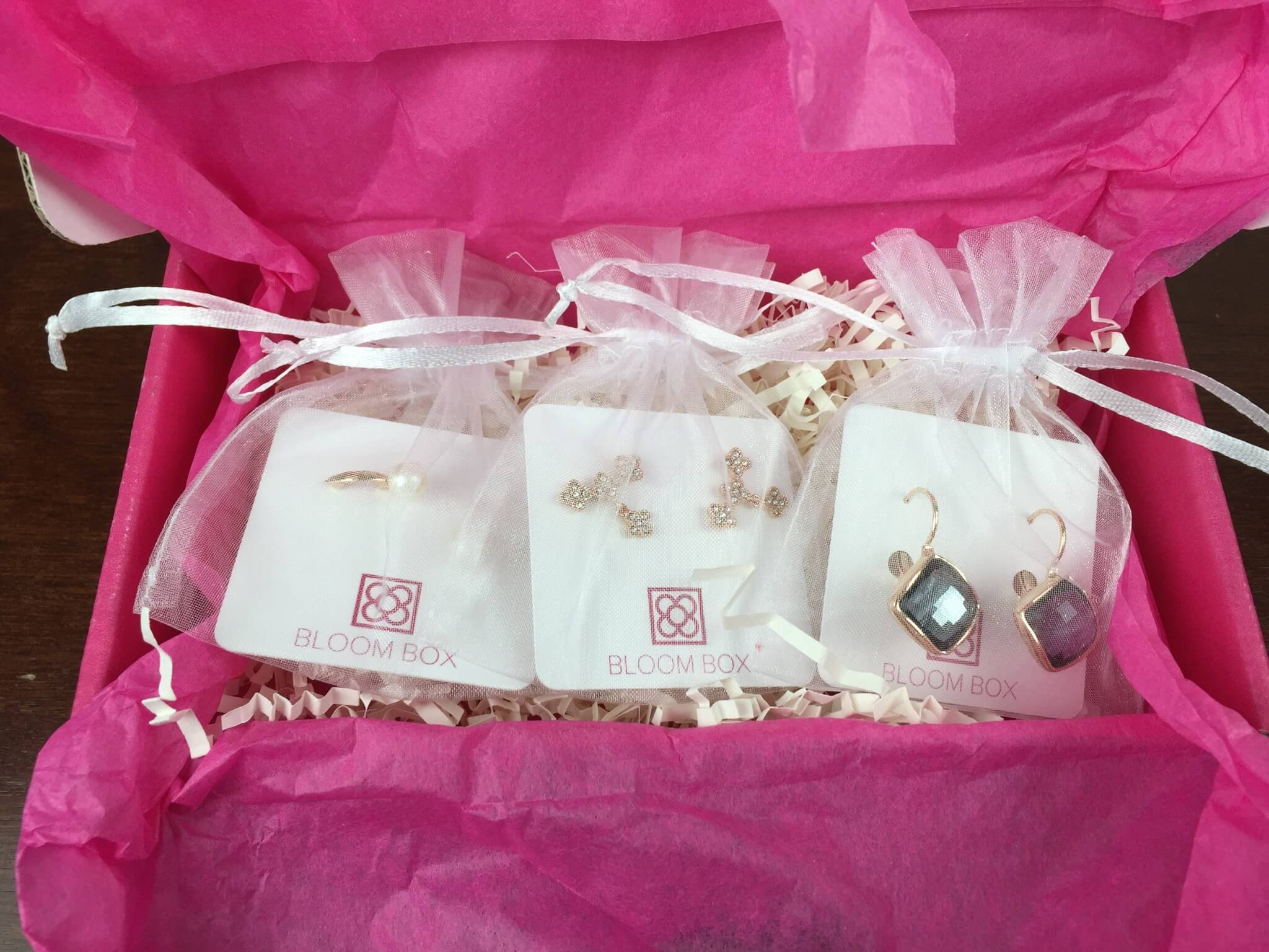 Bloom Box December 2015 earrings