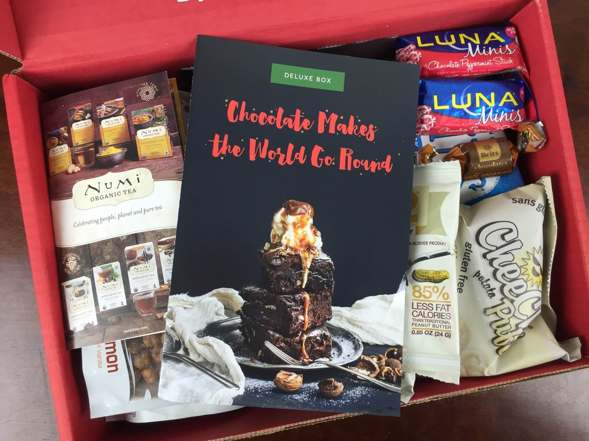 Love With Food December 2015 Deluxe Box Review + Coupon