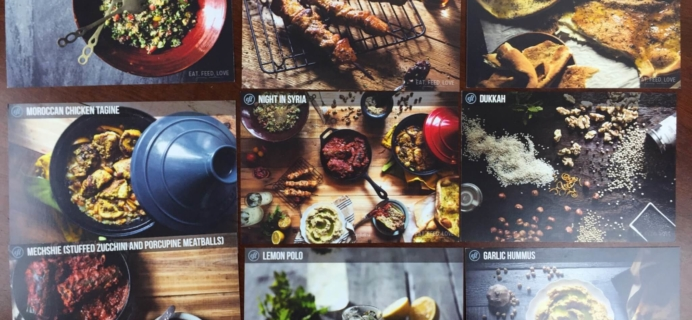 Eat Feed Love Taste Club December 2015 Subscription Box Review & Coupon
