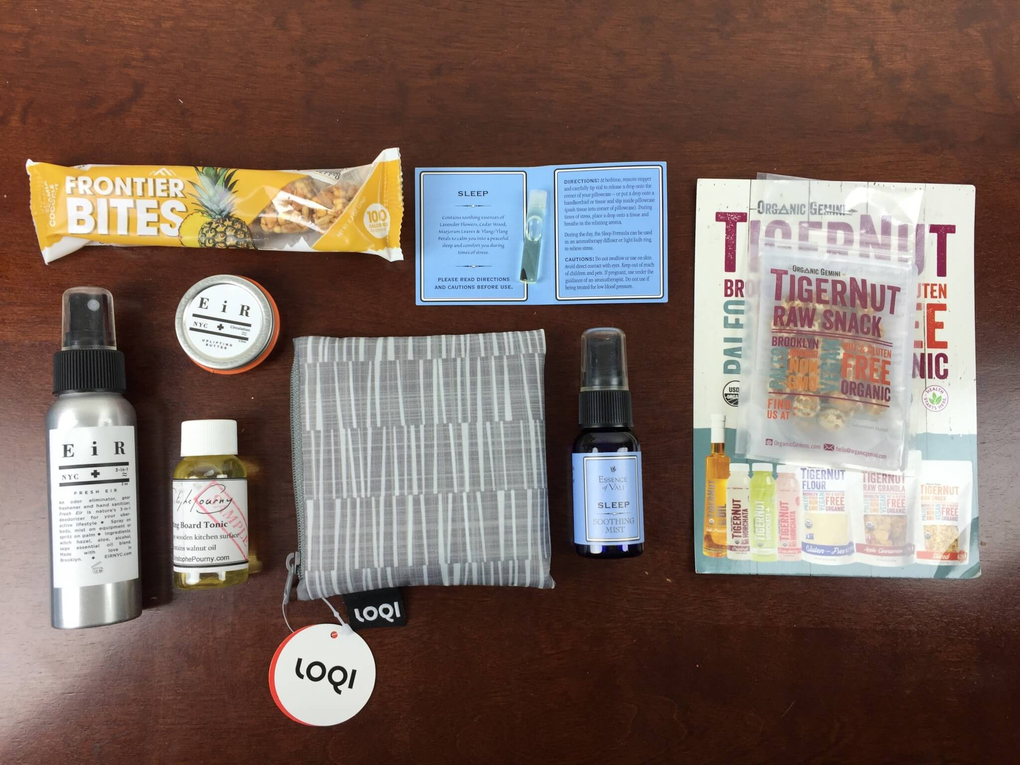Ecocentric Mom Box November 2015 Subscription Box Review