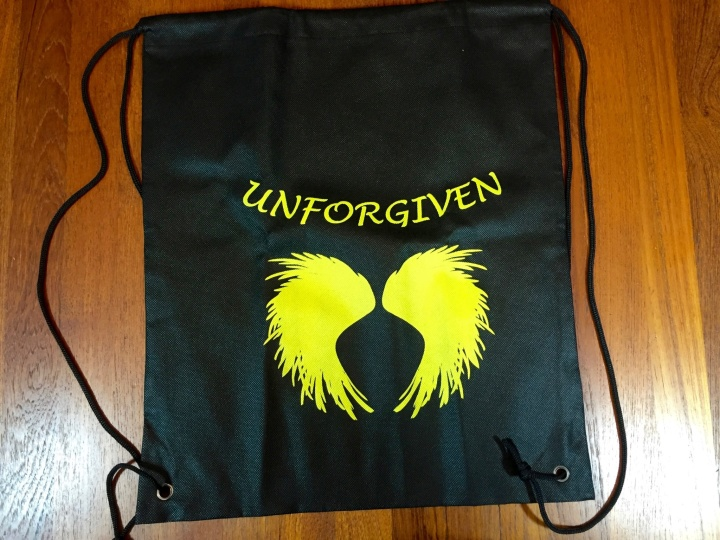 Fantasy & Sci-Fi Books December 2015 unforgiven bag