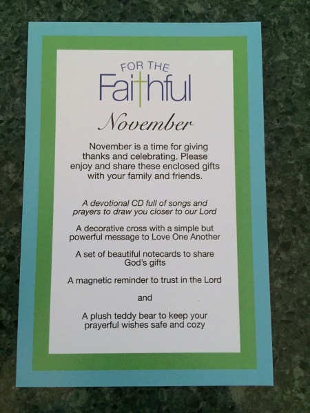 For the Faithful November 2015 IMG_0723