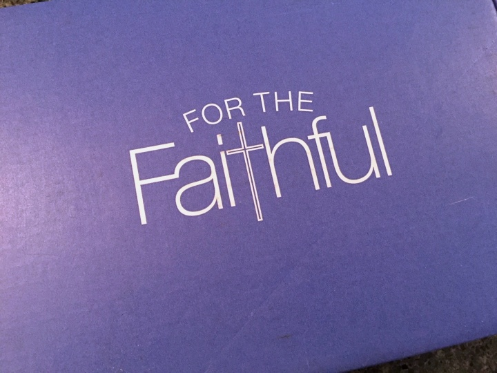 For the Faithful November 2015 box