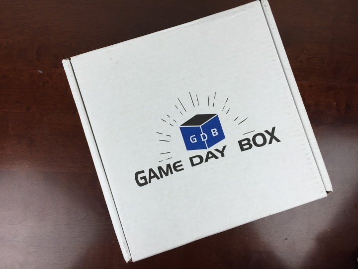 Game Day Box December 2015 box