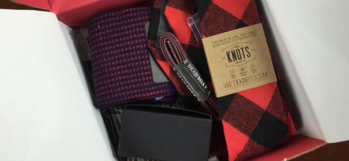 Gentleman's Box December 2015 Subscription Box Review & Coupon