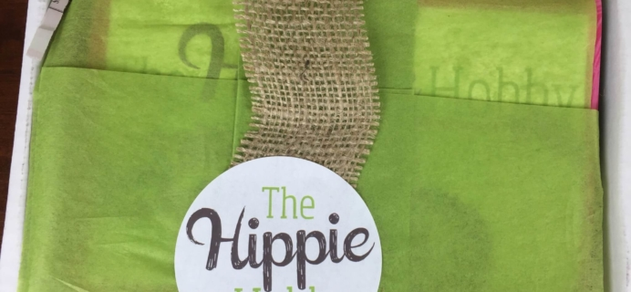 The Hippie Hobby November/December 2015 Subscription Box Review & Coupon