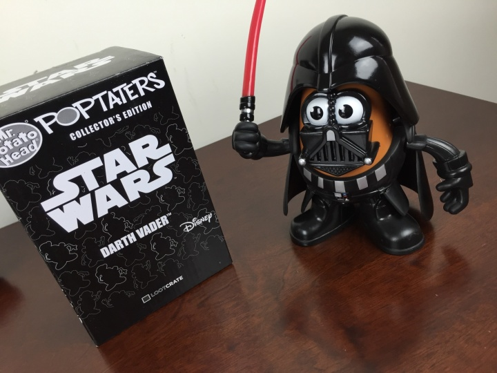 Loot Crate Star Wars Limited Edition Box 2015 darth tater