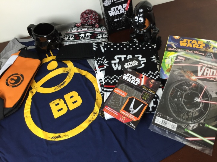 Loot Crate Star Wars Limited Edition Box 2015 items