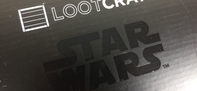 Loot Crate Star Wars Limited Edition Box Review