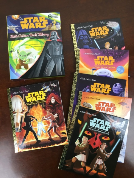 Loot Crate Star Wars Limited Edition Box 2015 little golden books
