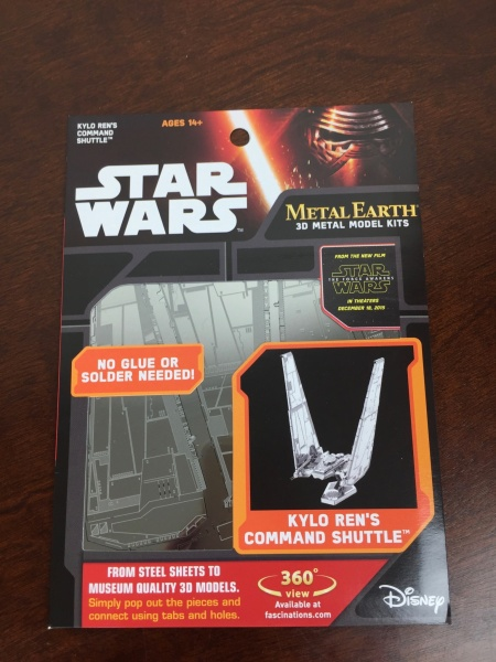 Loot Crate Star Wars Limited Edition Box 2015 model kit