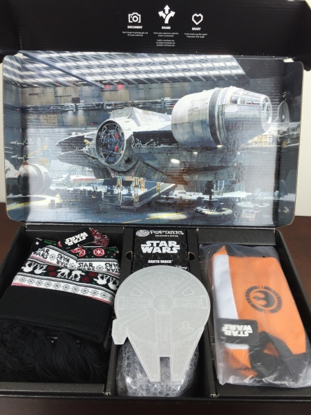 Loot Crate Star Wars Limited Edition Box 2015 unboxing
