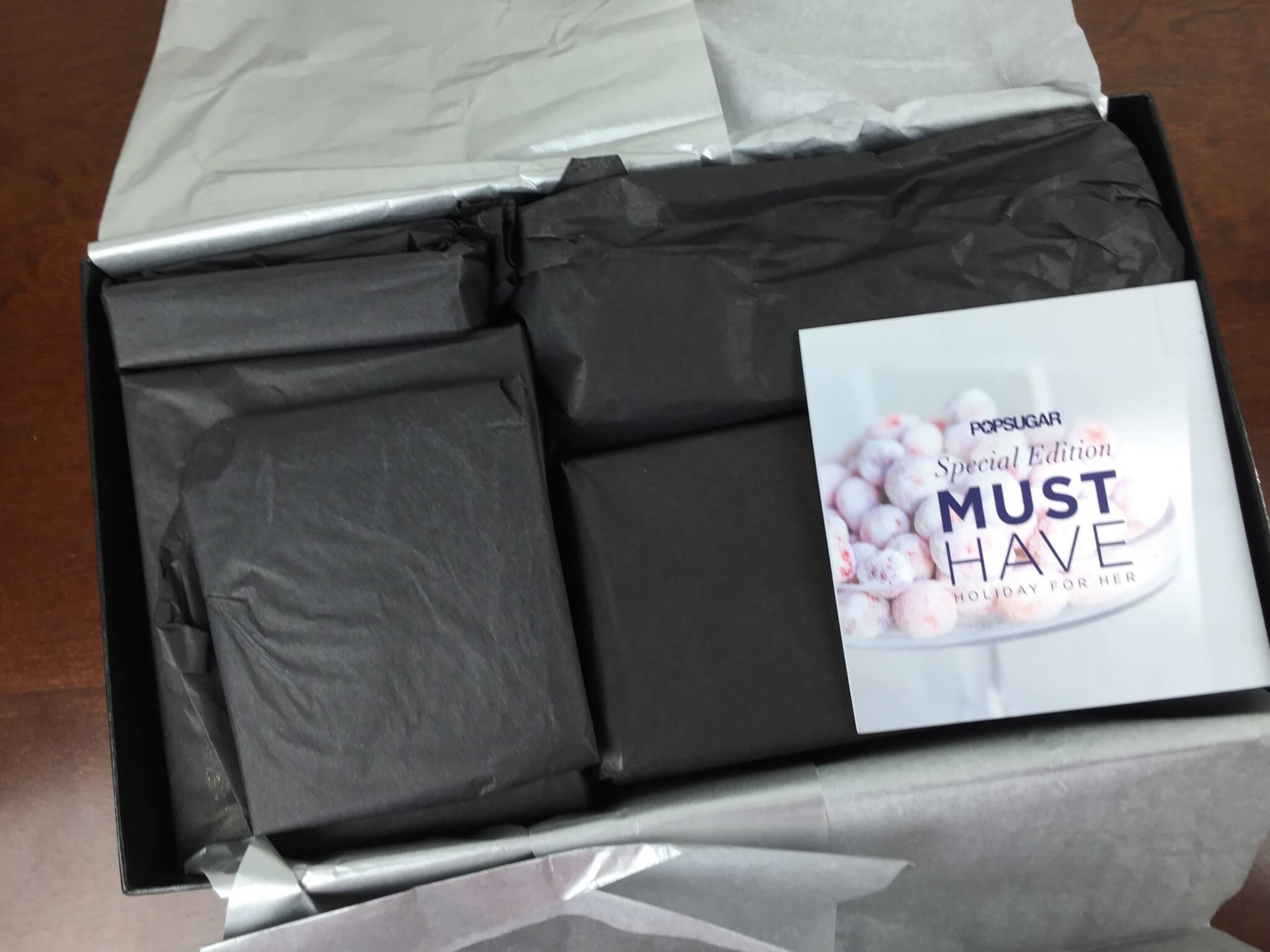 POPSUGAR Must Have 2015 Special Edition Holiday for Her Box Review
