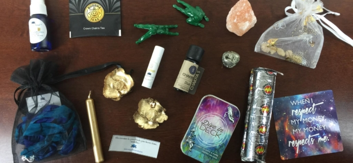 Sapphire Soul December 2015 Subscription Box Review & Coupon