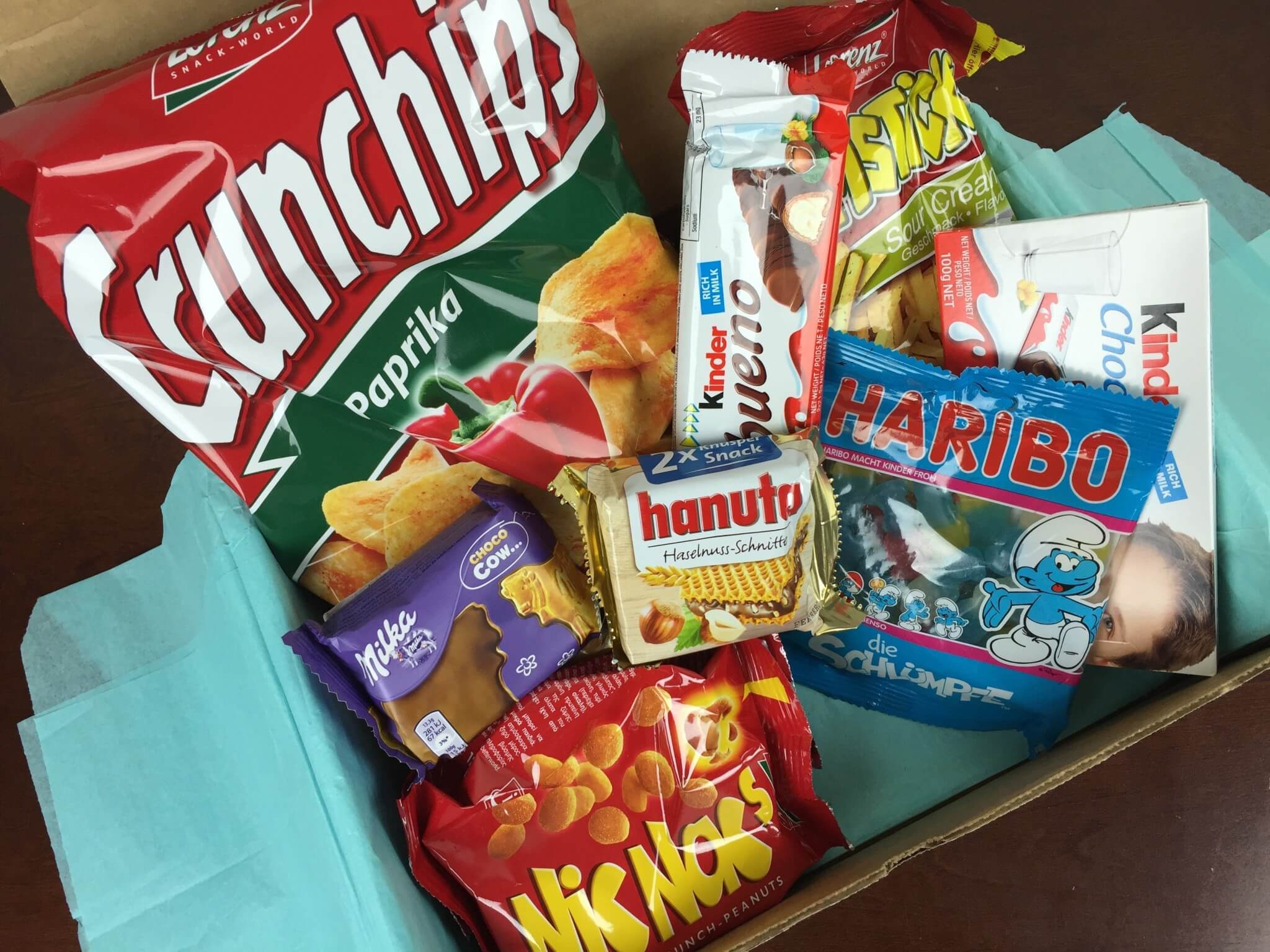 Treats Box December 2015 Review & Coupon Code – Germany
