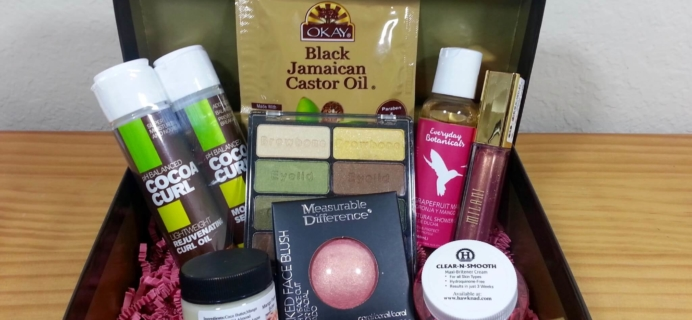 Cocotique December 2015 Subscription Box Review & Coupon