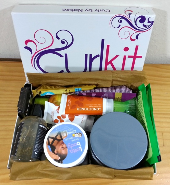 curlkit december 2015 unboxing