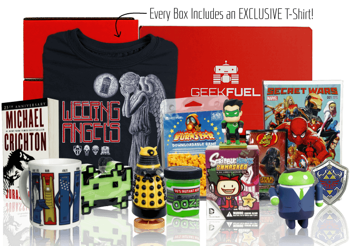 Geek Fuel April 2017 Spoilers + Coupon – Extra Spoiler Info!
