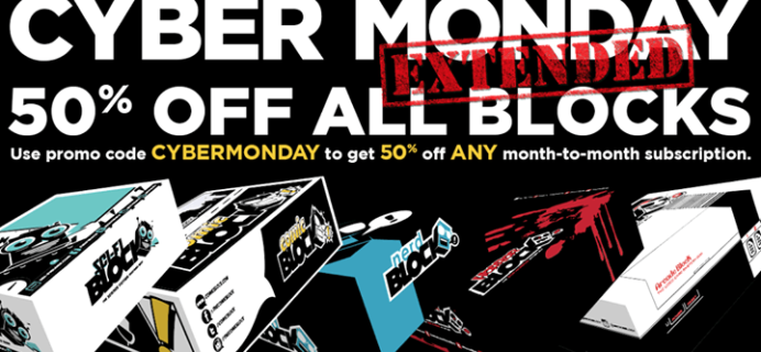 Nerd Block Boxing Day Sale: Half Off Any Monthly Subscription!