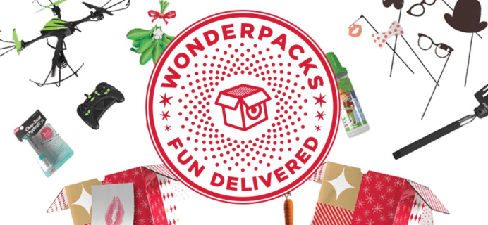 Target Wonderpacks Available Now! Limited Edition Holiday Boxes