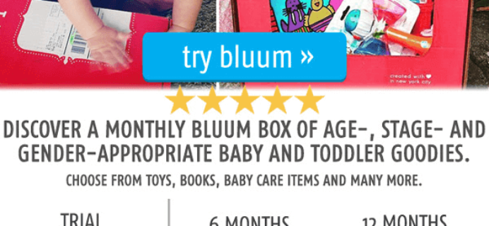 Citrus Lane Alternative: Get Up To 4 Free Months of Bluum or 65% Off First Box!