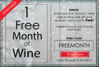 PLONK Wine Club Holiday Coupon Code – Free Month With Subscription!