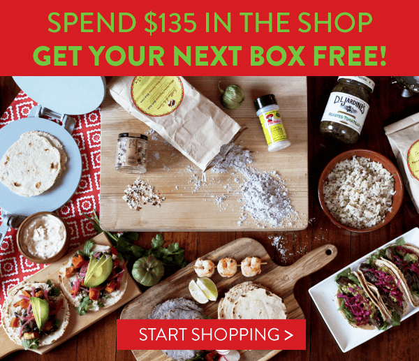 Hamptons Lane Holiday Deal: Spend $135 in the Shop, Get Next Box Free!