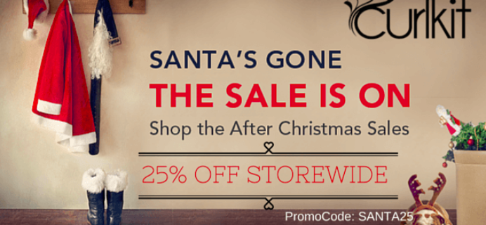CurlKit Boxing Day Deal: 25% Off Including Longer Subscriptions!!