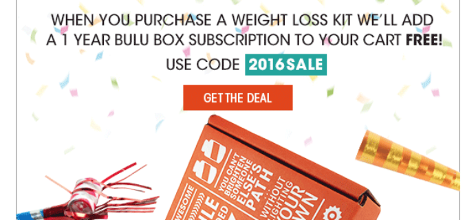 Free Year of Bulu Box with Weight Loss Kit Purchase!