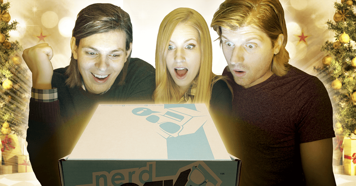Nerd Block Boxing Day Sale Ends 1/1: Half Off Any Monthly Subscription!