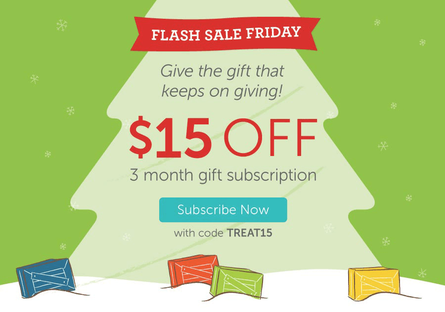 Kiwi Crate Flash Sale: $15 Off 3-Month Gift Subscriptions!
