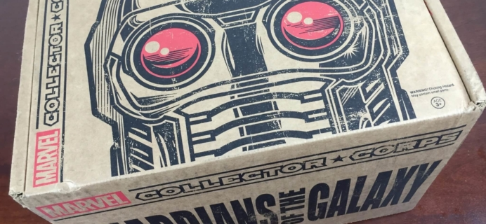 Marvel Collector Corps December 2015 Review: Guardians of the Galaxy