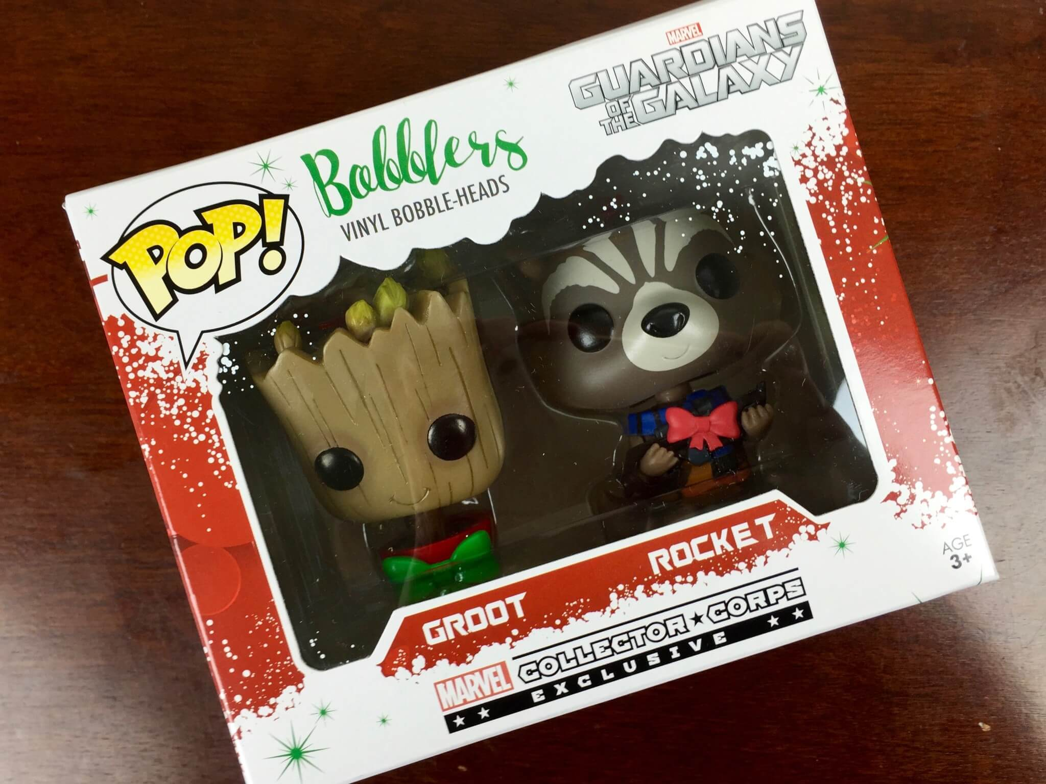 marvel subscription box december 2015 funko christmas ornaments