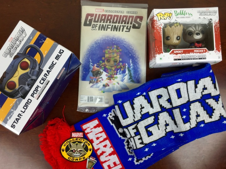 marvel subscription box december 2015 review