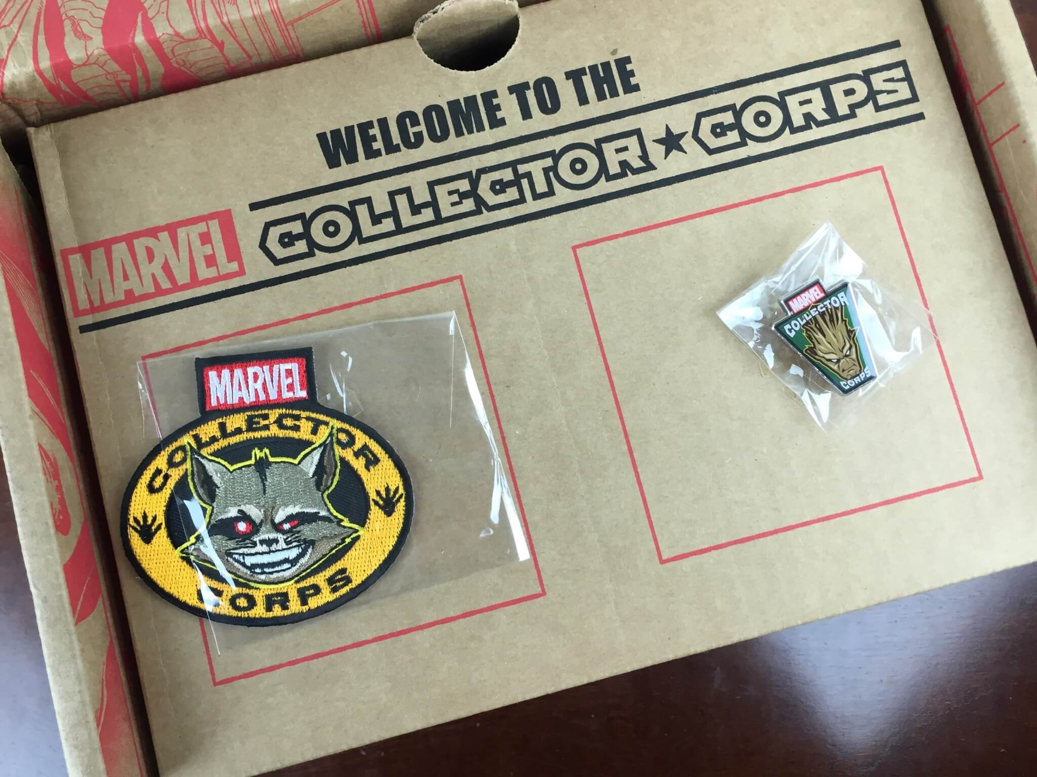 marvel subscription box december 2015 unboxing
