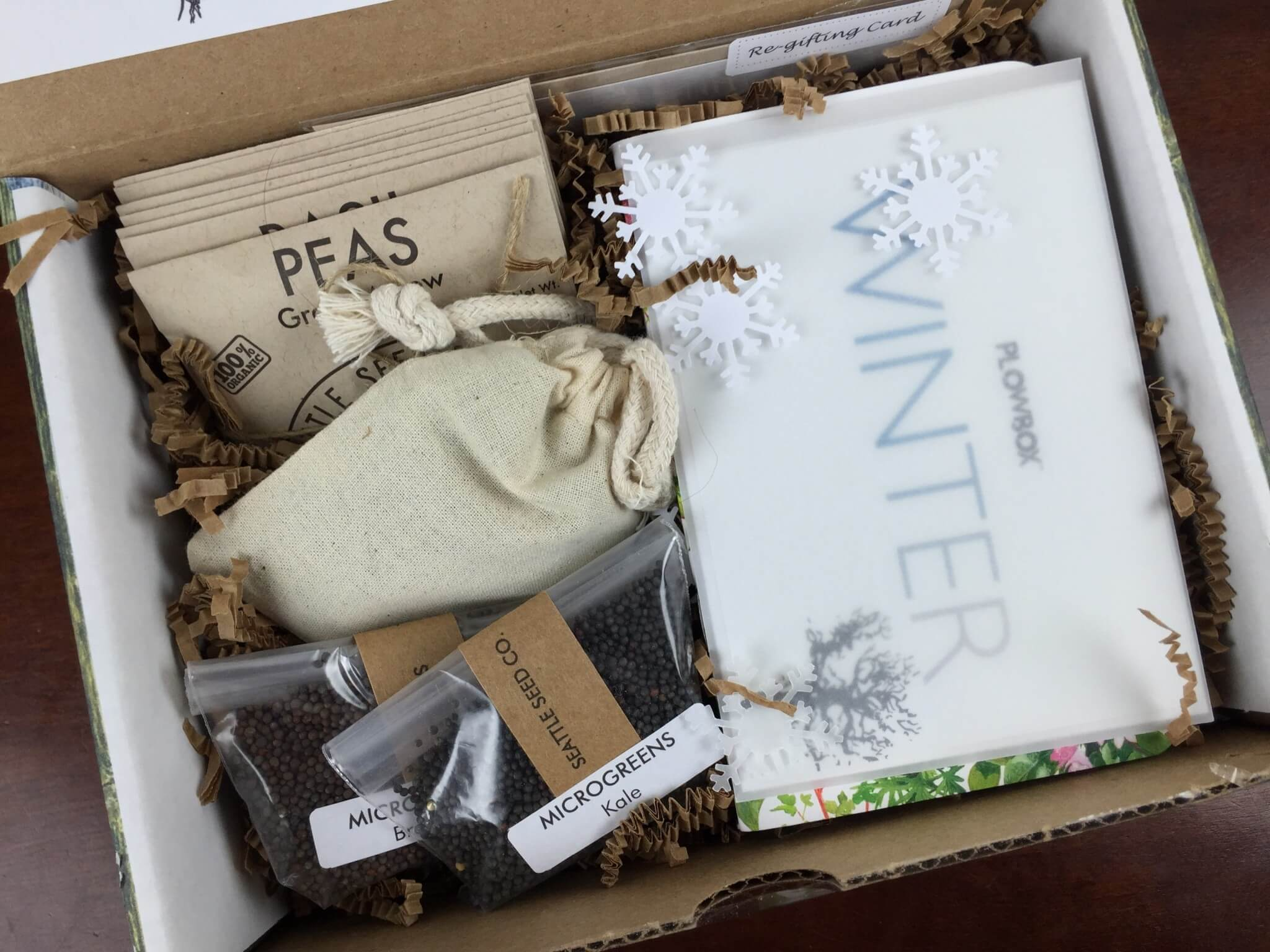 Plowbox Winter 2015 Gardening Subscription Box Review + Coupon