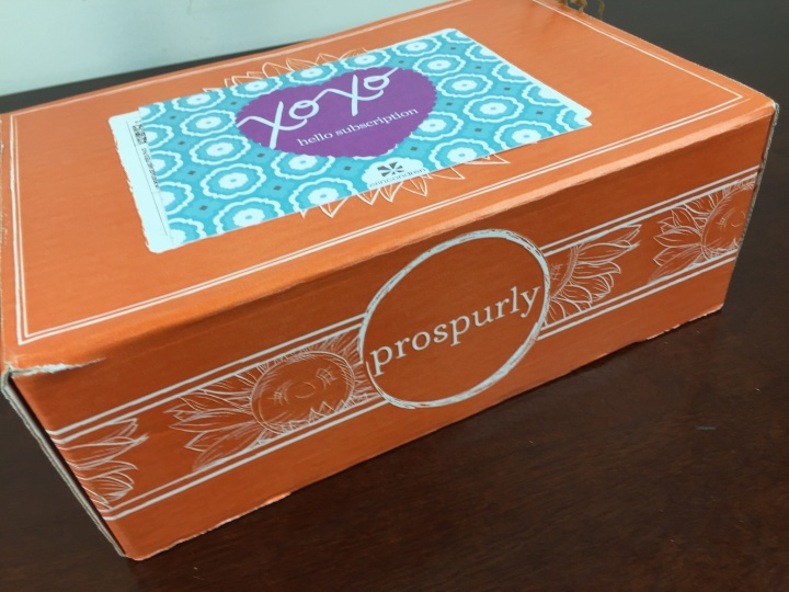 prospurly december 2015 box